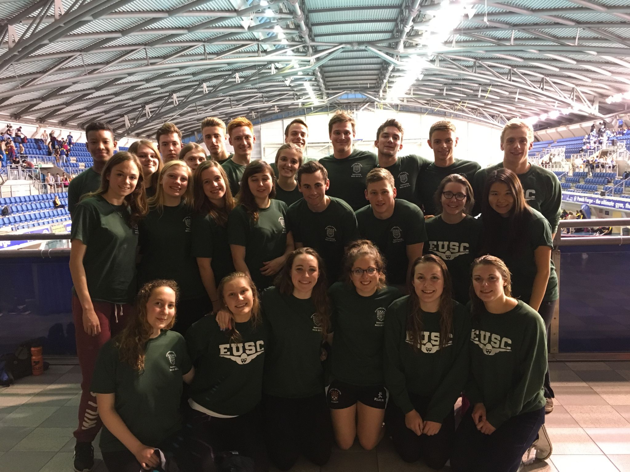 Eusc Blow Competition Out Of The Water At Bucs University Of Exeter Swimming Club