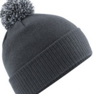 Grey EUSC Bobble Hat