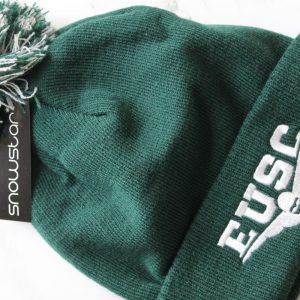 Green EUSC Bobble Hat