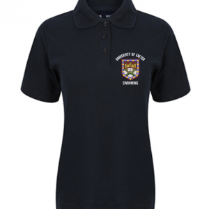 Girls' Swimming Polo Shirt